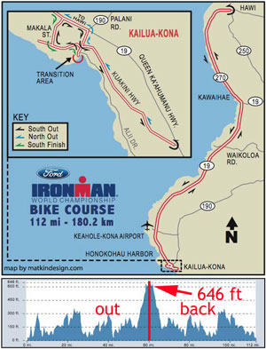 Kohala Coast Hawaii Map.2006 2007 Ford Ironman World Championship Bike Course Tv Schedule