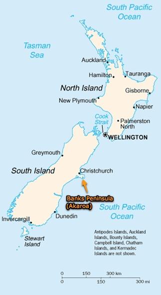 Cycling New Zealand - Christchurch and Banks Peninsula (Akaroa), Part ...