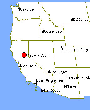 Pin City Nevada Is The Seat Of County Photo Taken 011903