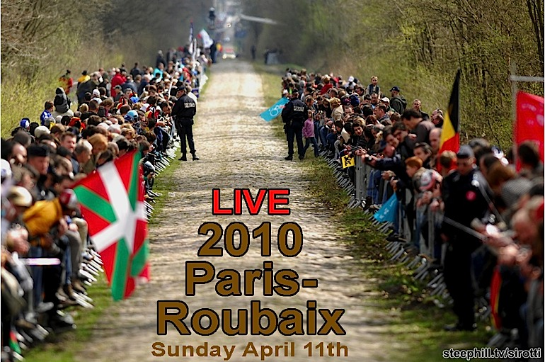 Paris-Roubaix 2010 Live Dashboard