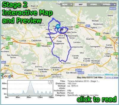 2010 Tirreno-Adriatico Video, Route, Preview, Teams, Results ... on