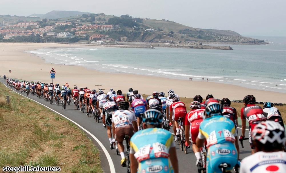 vuelta cycling