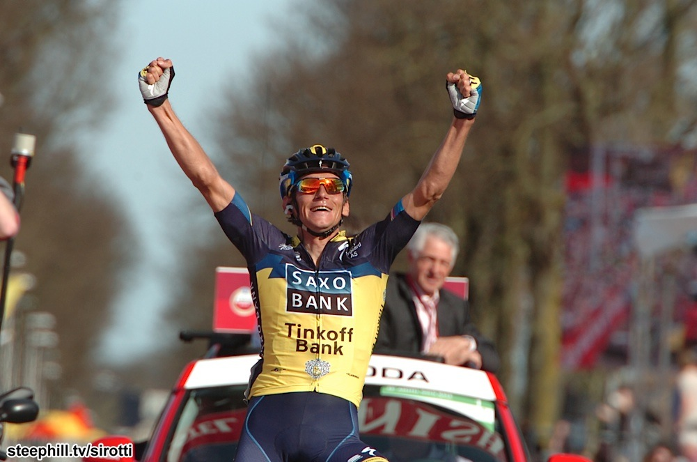 Photo: Roman Kreuziger (Saxo-Tinkoff) has had many good wins in his seven year career, but this is his biggest win.