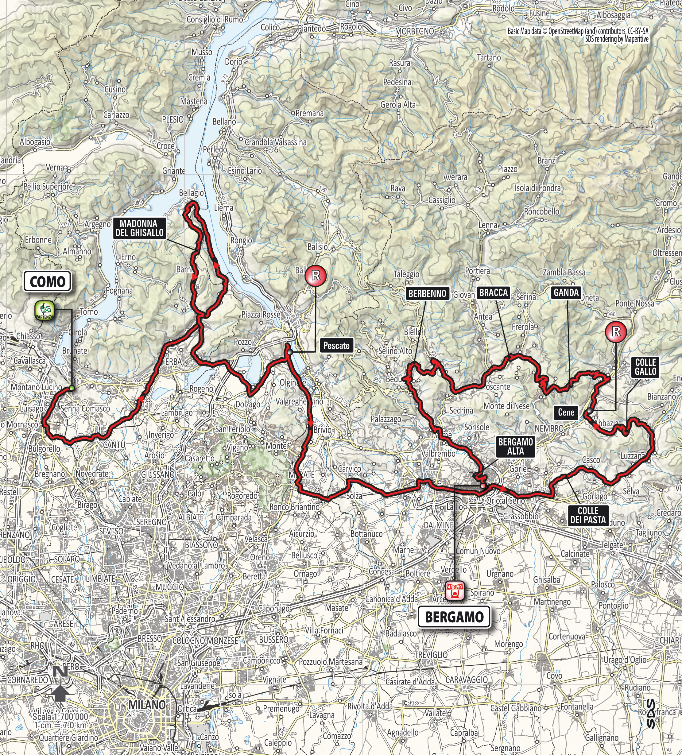 2014 Giro di Lombardia Live Video Route Teams Results Photos TV