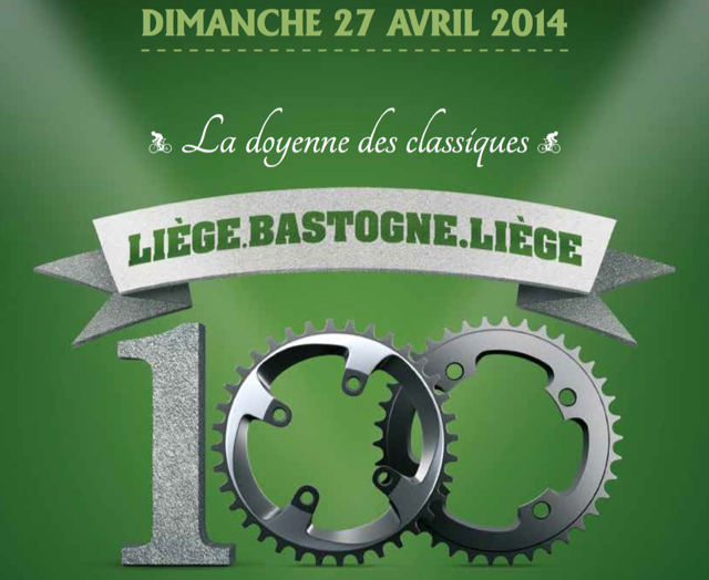 Photo: 2014 will see the running of the 100th edition of LBL.
