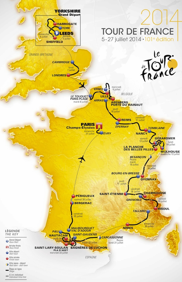 2015 Tour de France Live Video, Route, Preview, Results ...