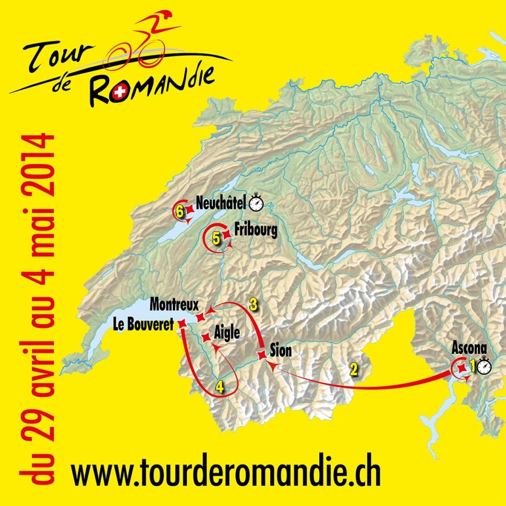 2014 Tour de Romandie Live Video, Route, Teams, Results ...