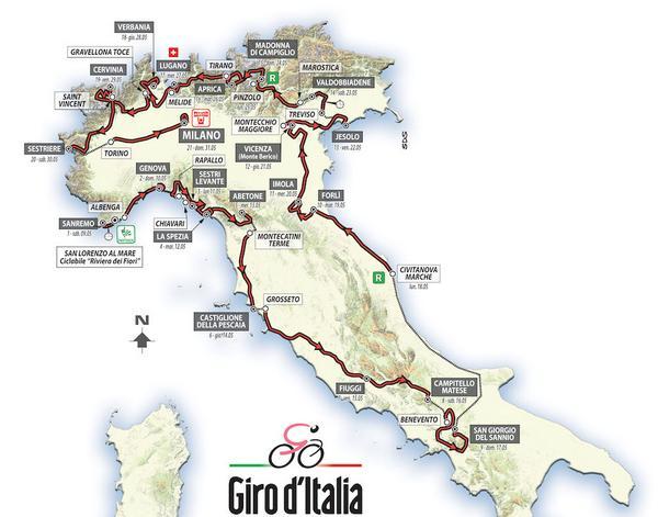 ジロ・ディ・イタリア2015