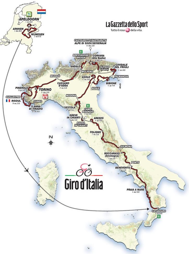 ジロ・ディ・イタリア2016