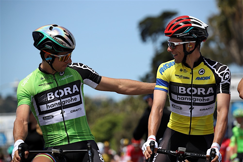 Team Sky Members Racing In Tour Of California