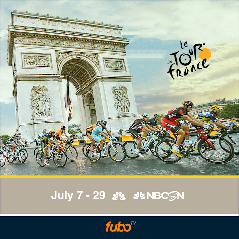 NBC Sports/ Fubo TV Live Streaming for Tour de France