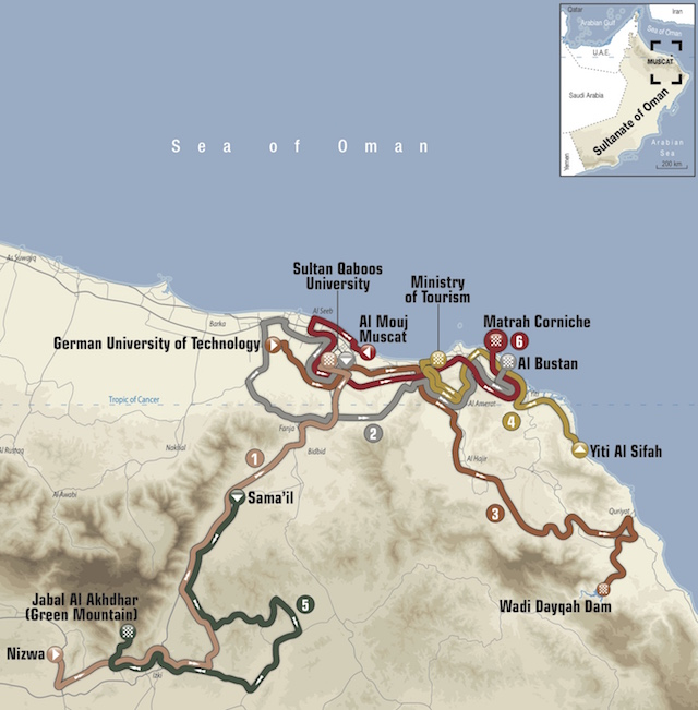 2018 Tour of Oman Live Video Route Teams Results Photos TV