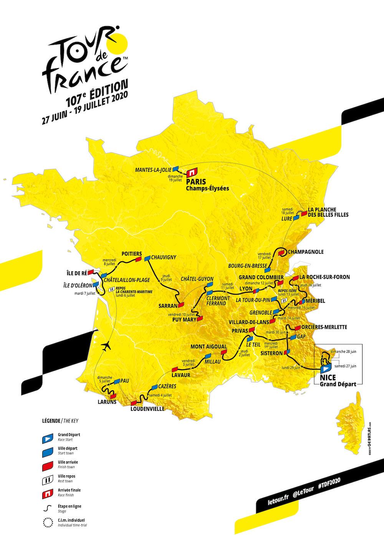 Tour De France 2020 Standings.2020 Tour De France Live Video Route Photos Results