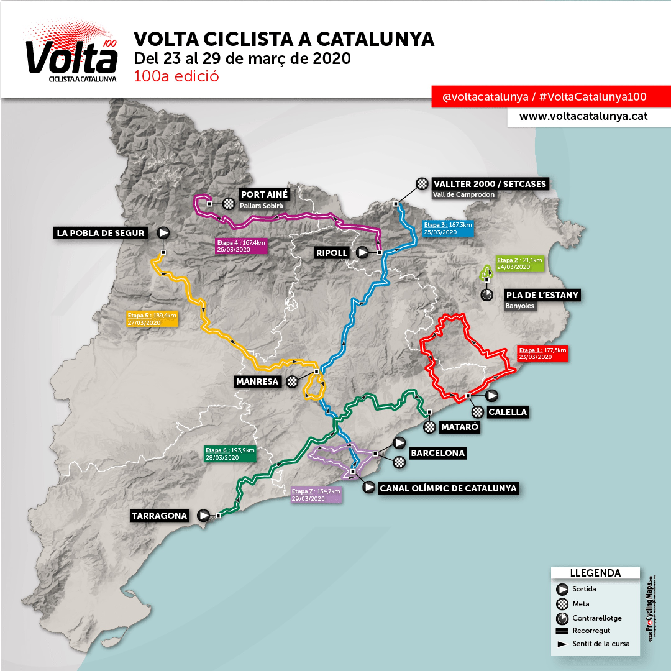 2020 Volta A Catalunya Live Video Preview Startlist Route